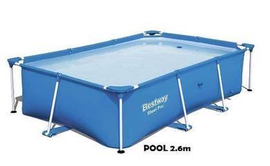 Bestway Pool 2.6m Swimming Pool Kolam Family