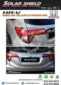 Honda HRV Rear Tail Lamp Garnish Stainless Stell