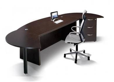 6ft Modern CEO Director Table-Desk Set OFMQX1800