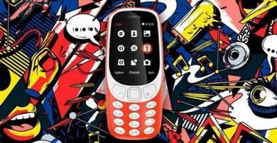 Nokia 3310 2017 Dual Sim 2MP Camera 2.4INCH Screen