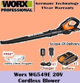 Worx WG549E WorxAir Cordless Blower 20V