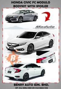 Honda civic fc modulo bodykit with spoiler