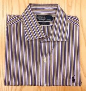 Polo Ralph Lauren L/Sleeve Office Shirt Used #59
