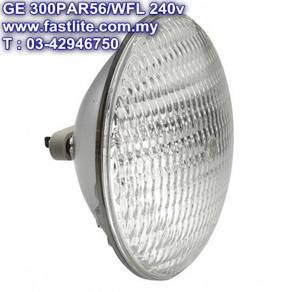 GE PAR56/WFL 240v 300w Studio lamp for PAR CAN