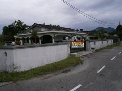 Single Storey Bungalow Corner House at Jalan Kuala Kangsar