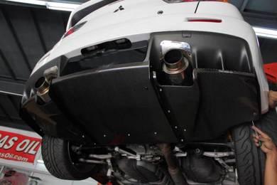 Evo X 10 Carbon Varis Rear Diffuser bodykit