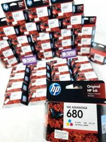Original HP 680 Color Ink Catridge Single