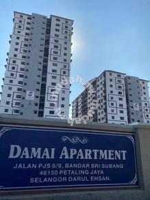Pangsapuri Damai, Bandar Sunway, Near MRT