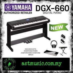 Yamaha DGX-660 dgx660 Dgx 660 Keyboard W Stand