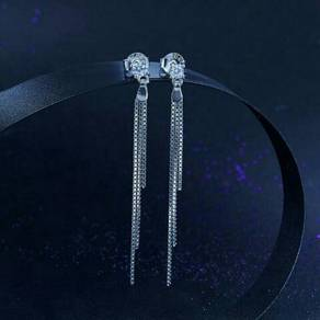 Drop Dangle Solid 925 Sterling Silver Earrings