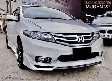 Honda city 12 14 Mugen V2 bodykit body kit lip