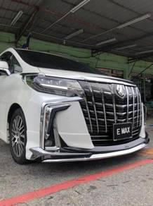 Toyota alphard 2015 convert 2018 facelift bumper