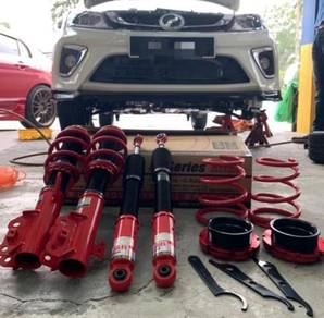 PEROUA New Myvi 2018 gab soft-hard Adjustable