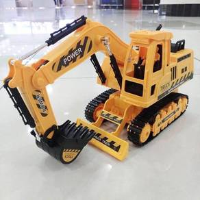 Rc excavator truck power toys
