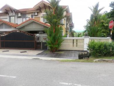 Two Storey Semi Detached Link Corner Lot Aman Perdana [FREEHOLD]