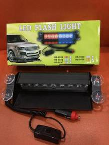 Led flash light with 8pcs led