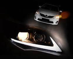 Toyota altis 14 to 15 projector head lamp DRL LED