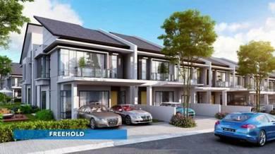 Affordable New double storey with club house facility Bandar Meru Raya