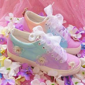 Pastel flower cute shoes RBH0219