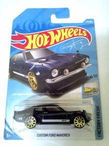 Hot Wheels 2018 - CUSTOM FORD MAVERICK (RECOLOR)