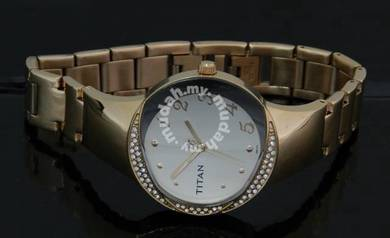 TITAN Ladies SWAROVSKI Dress Watch 9928WM01