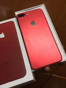 Iphone 7 plus 128GB RED cantik
