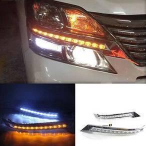 Toyota vellfire FL 2012 led eye lip+running led