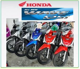 Honda w125i 2disc new colour
