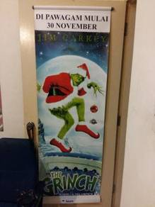Poster THE GRINCH Limited Edition Bunting 2001