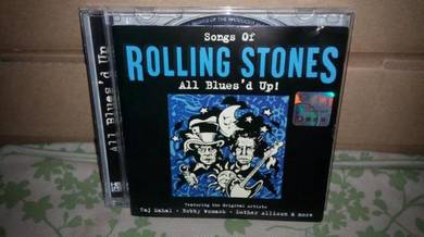 CD Songs Of Rolling Stones - All Blues Up
