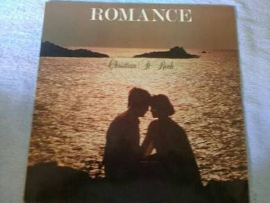 119 Piring hitam LP ROMANCE CHRISTIAN ST ROCH