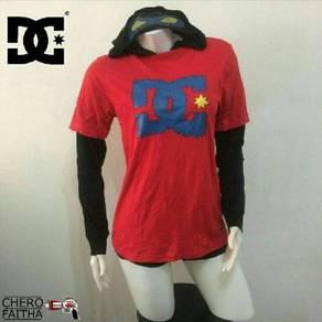 DC longsleeve with hood skate shirt