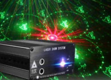 Mini Laser Show System with Remote Control