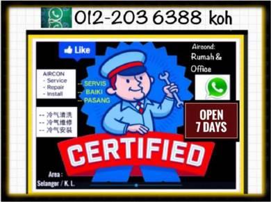 Aircond PRO AIRCON SEL/KL -Pandan Jaya dll