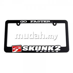 S2 Skunk2 Go Faster / Live The Dream Plate Frame