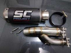 BMW S1000RR exhaust system bmw s1000rr