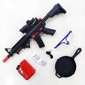 Pubg set senapang m416 gun kids toys