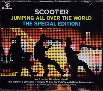 3CD SCOOTER Jumping All Over The World Special EDT