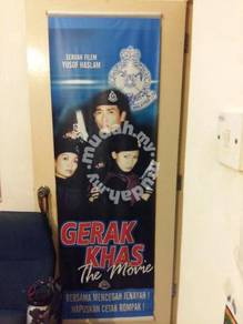 Poster GERAK KHAS THE MOVIE Limited Edition 2001