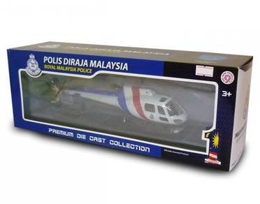 Helipkoter Unit Udara PDRM 1/43 diecast model