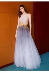 Grey ombre wedding bridal prom dress RBP0612