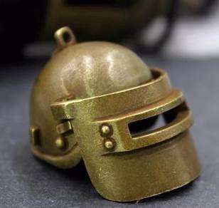 Pure Copper Helmet Design II | Keychain Tembaga