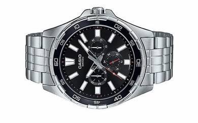Casio Men Multi Hands Watch MTD-300D-1AVDF