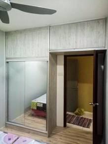 Kitchen,wardrobe dan tv cabinet 45