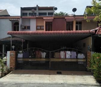 Bukit mertajam, taman kota permai, double storey terrace