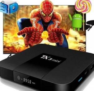 Tx3 fully 2/16g android mini tv box plus iptv hd