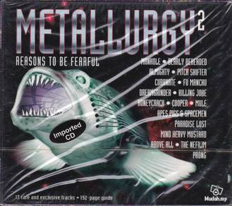 IMPORTED CD METALLURGY2 - Reasons To Be Fearful