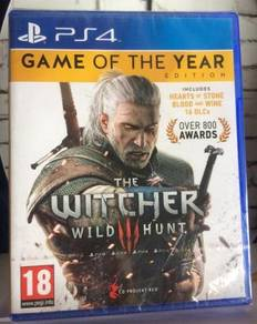 Selling NEW AND SEALED PS4 Game The Witcher 3 GOTY