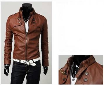 Leather Stylish Men Jacket British Stylish Mens