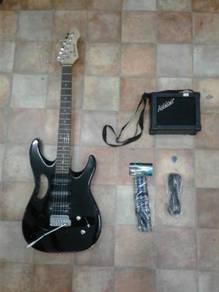 Rcstromm Humbucker Electric Guitar Set (BK)